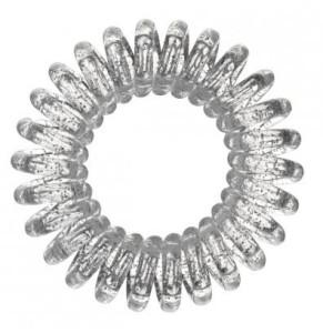 srebrna gumka Invisibobble